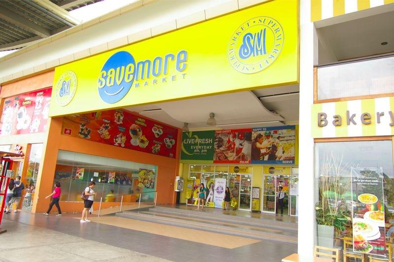 パークモールにあるスーパーマーケット、セーブモア