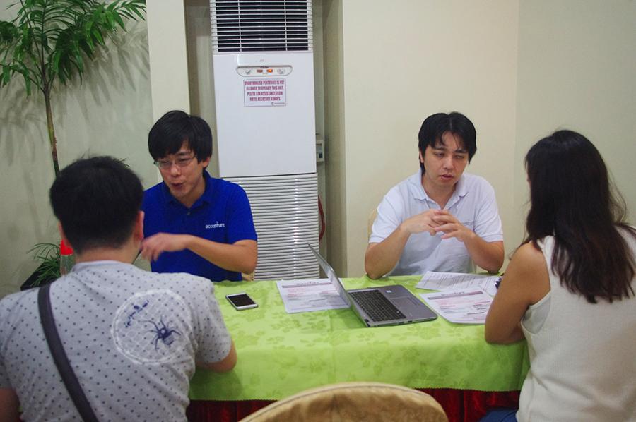 第1回海外就職フェアAccenture Philippinesブース