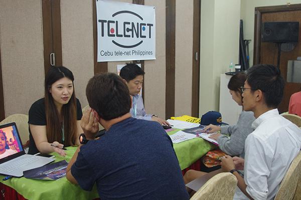 第1回海外就職フェア株式会社テレネットブース