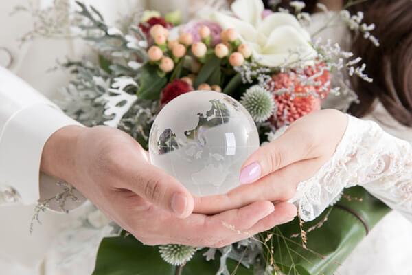 国際結婚のイメージ
