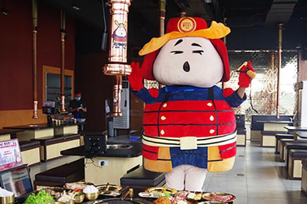 お店のマスコットキャラクター