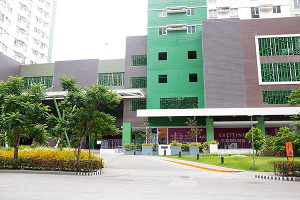 Avida Towers Rialaの外観