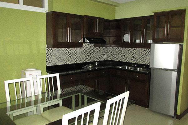 Santoni's Placeのキッチン