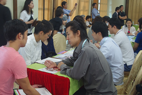 第1回海外就職フェアADWAYS PHILIPPINES INC.ブース