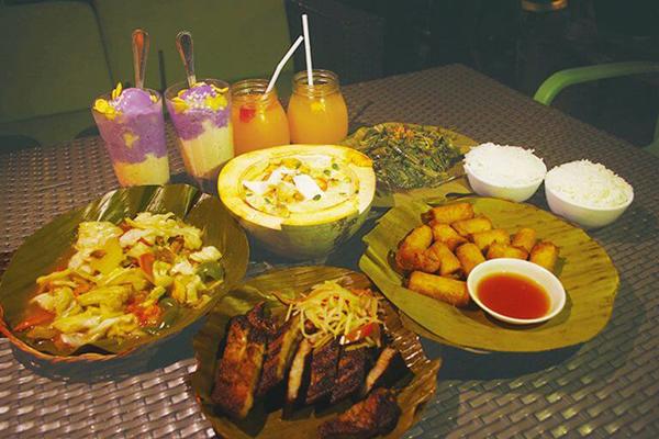セブ_オプショナルツアー_スパ _フィリピン料理