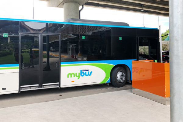 セブ・マクタン国際空港からの移動手段、ターミナル2のMybus乗り場