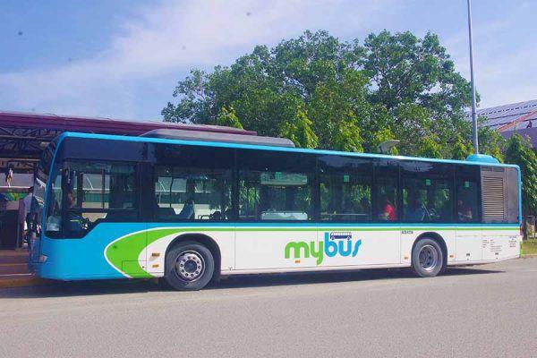 セブ・マクタン空港の移動手段、Mybus