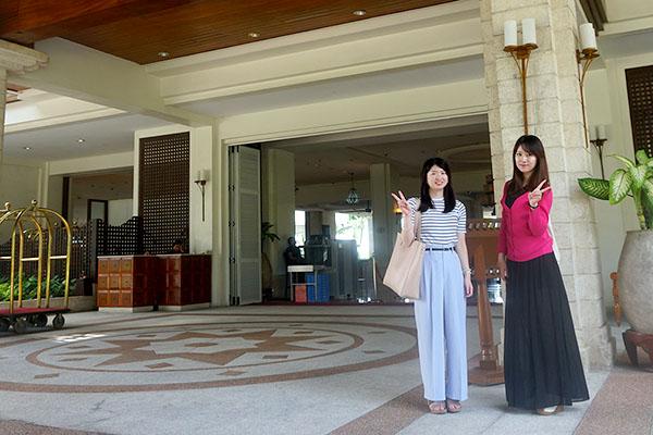 セブ市内観光ツアー、マクタン島ホテル