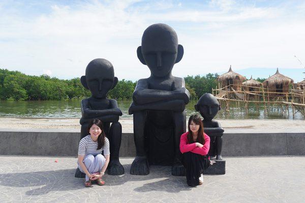 セブ市内観光ツアー、お米の神様の像