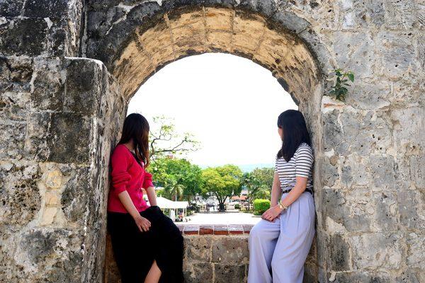 セブ市内観光ツアー、フォートサンペドロ要塞のフォトスポット