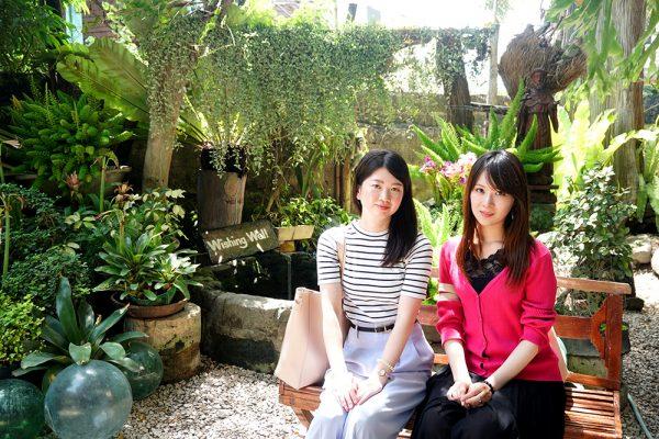 セブ市内観光ツアー、サンディエゴ邸の庭