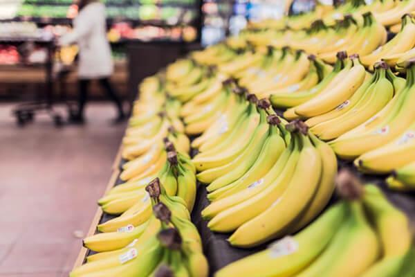 免疫力UP食材のバナナ