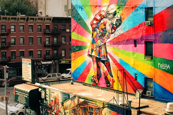ニューヨークのストリートアート