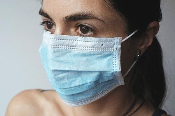 コロナウィルス感染の予防法、マスク