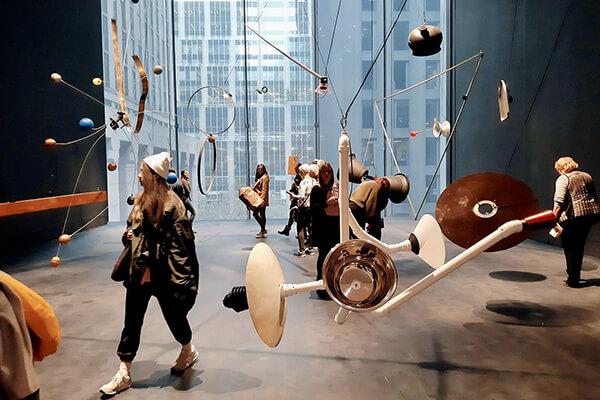 MOMAの内観