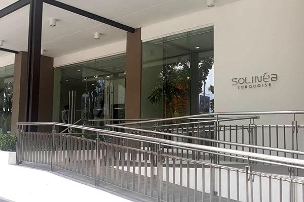 Soliniaのエントランス