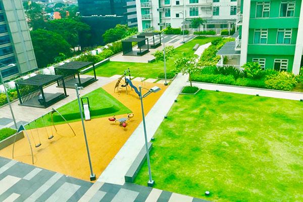 Soliniaの公園