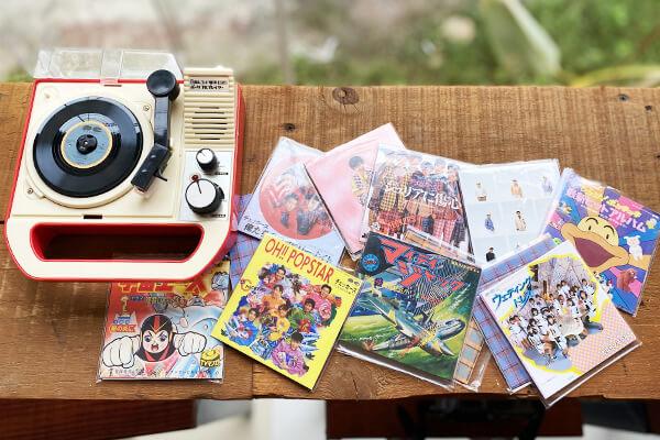 スモールレコードの数々