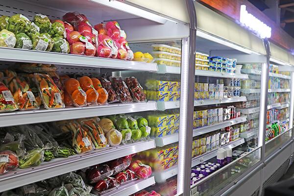 野菜、果物、デイリー商品