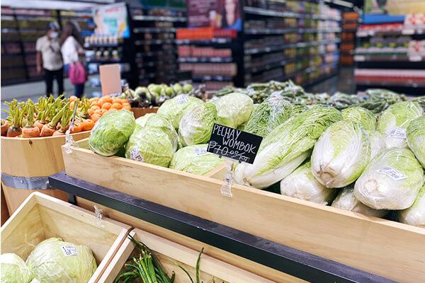 キャベツや白菜などの野菜
